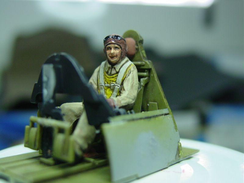 Tamiya Piloto US Navy 3