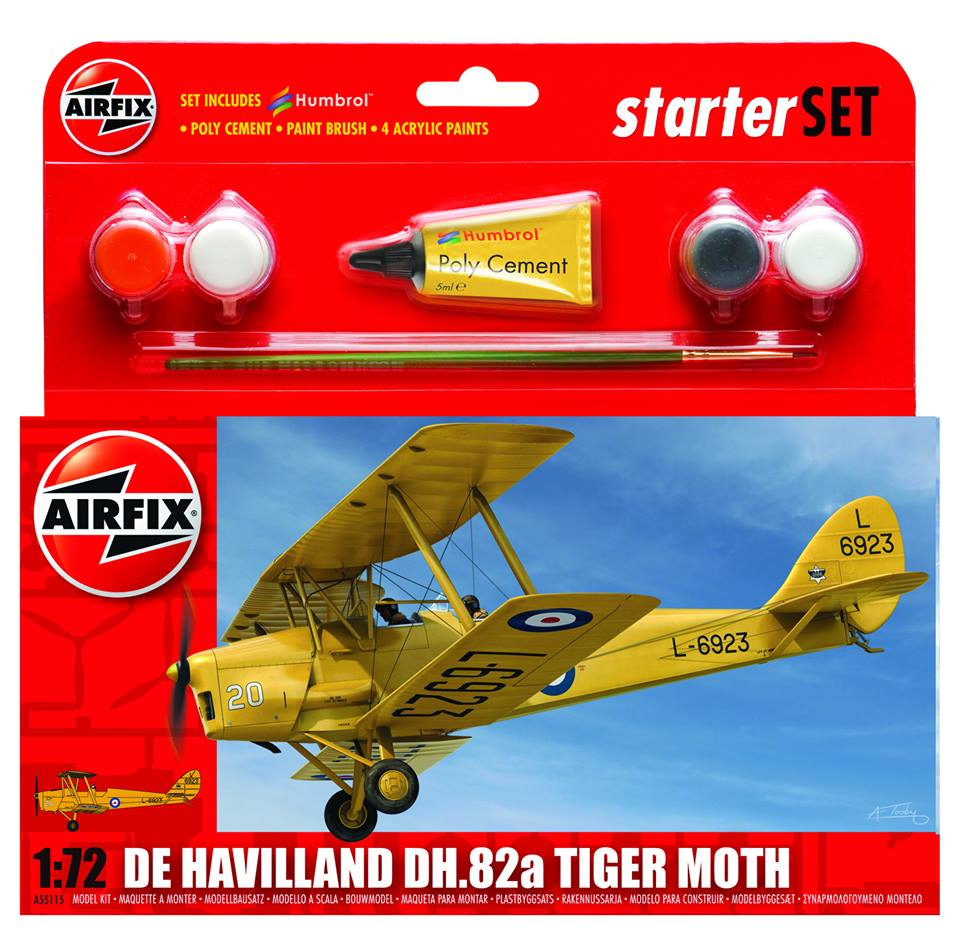 DeHavilland Tiger Moth Airfix