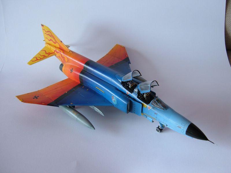 F-4F Phantom II Italeri 2