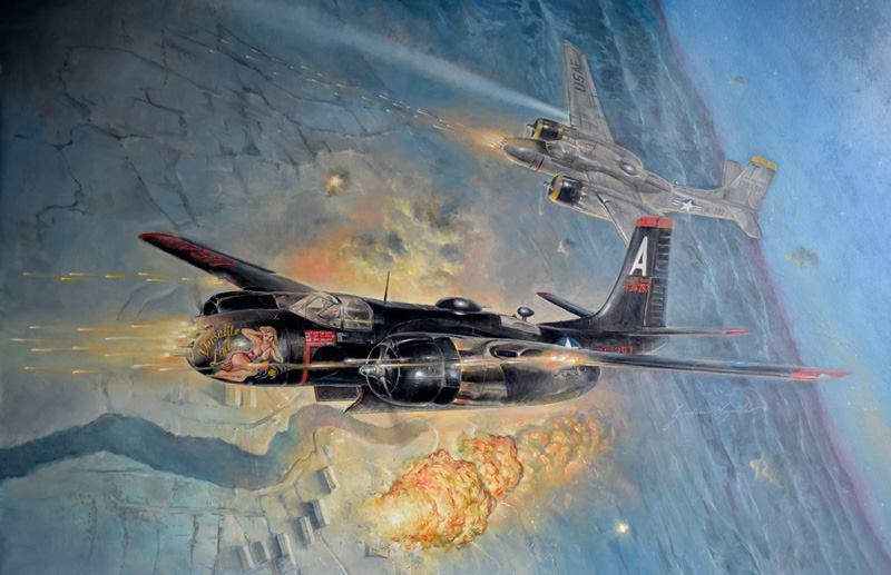 A-26B Invader Italeri