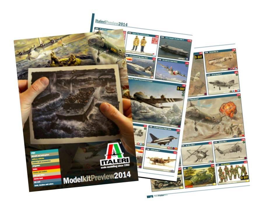 Catálogo Italeri 2014