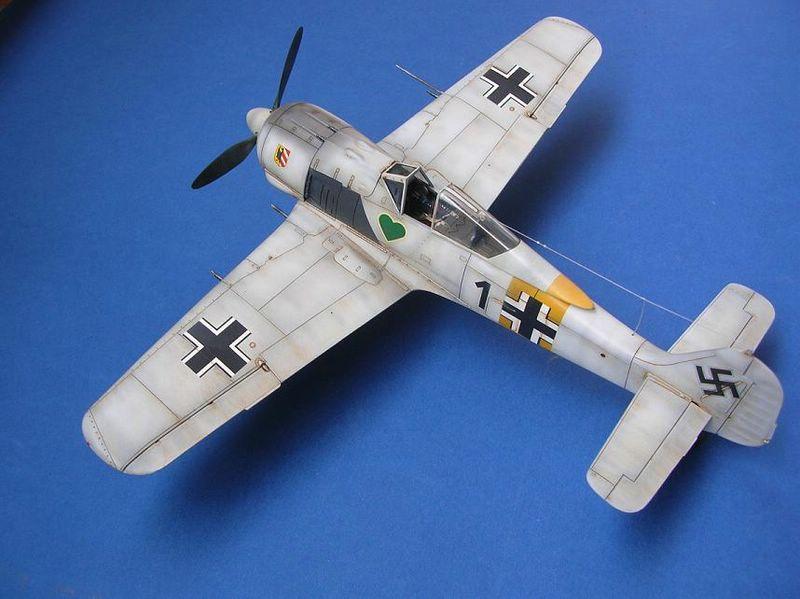 Fw-190 A4 Tamiya 4