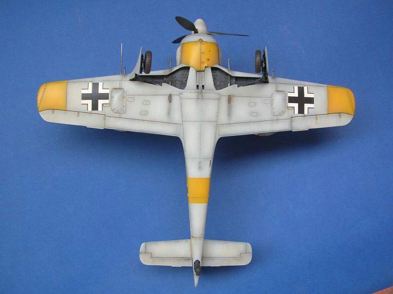 Fw-190 A4 Tamiya 6
