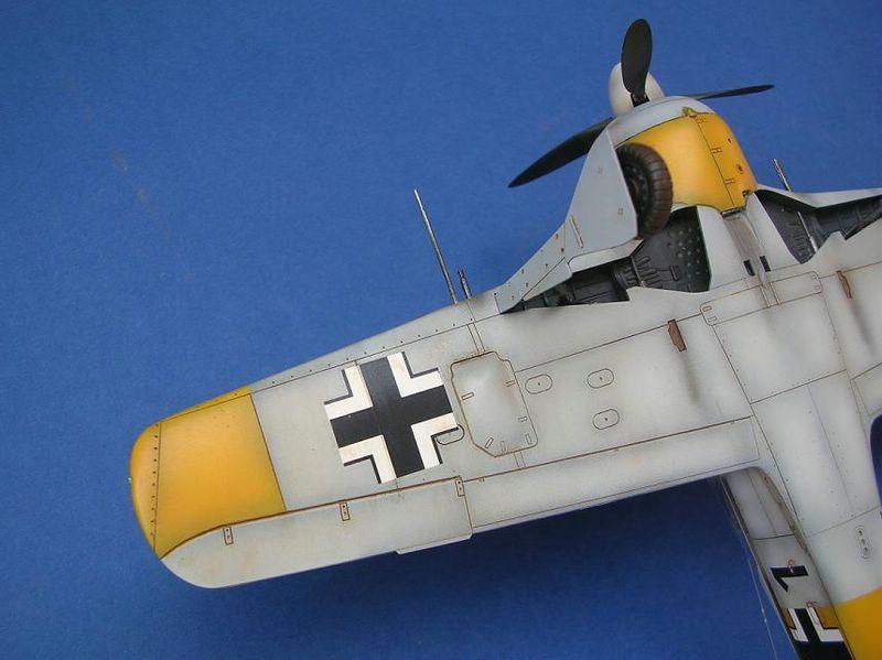 Fw-190 A4 Tamiya 7