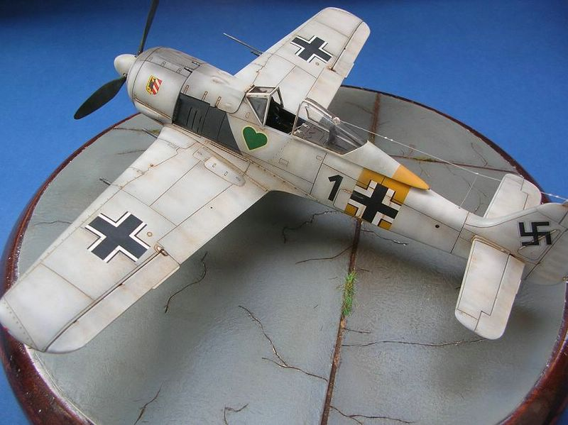 Fw-190 A4 Tamiya 8