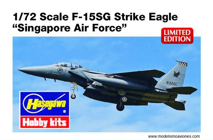 Maqueta F-15 de Hasegawa