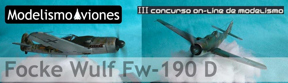 Maqueta Fw-190 de Italeri