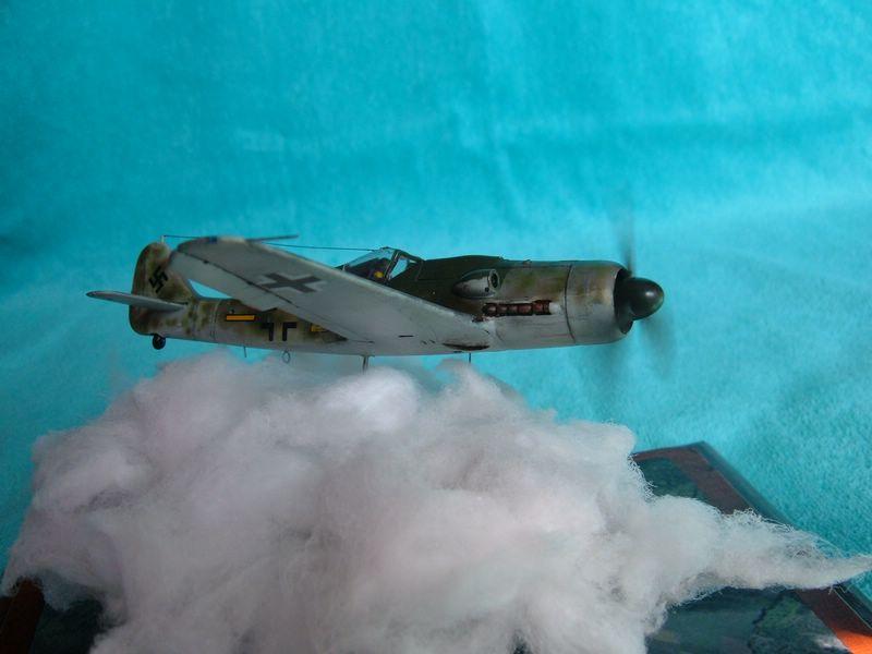 Maqueta del Fw-190 de Italeri