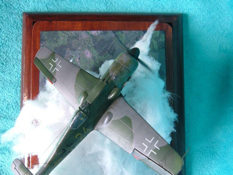 Maqueta del Fw-190D