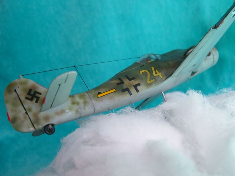 Fw-190 en vuelo