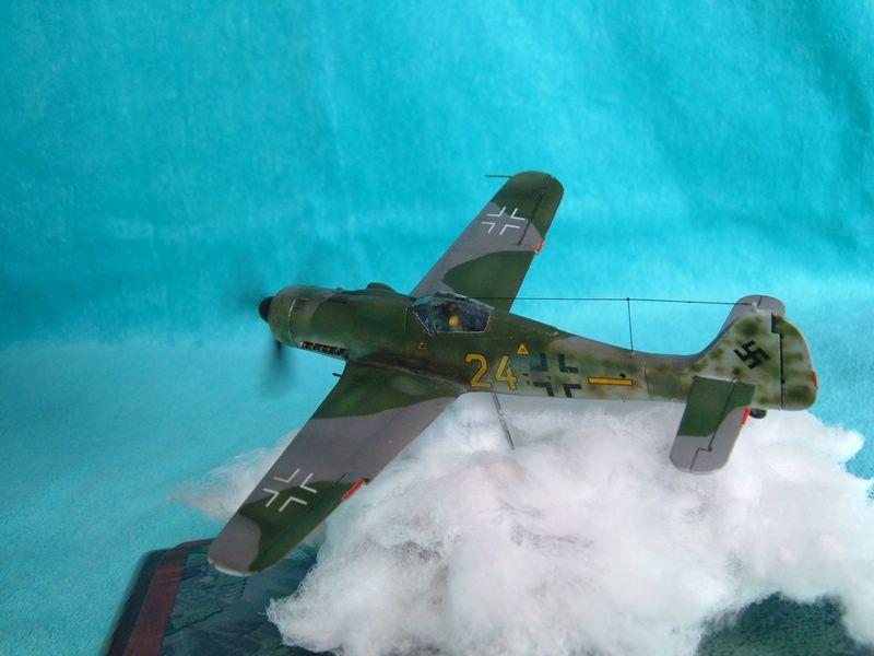 Maqueta del Fw-190