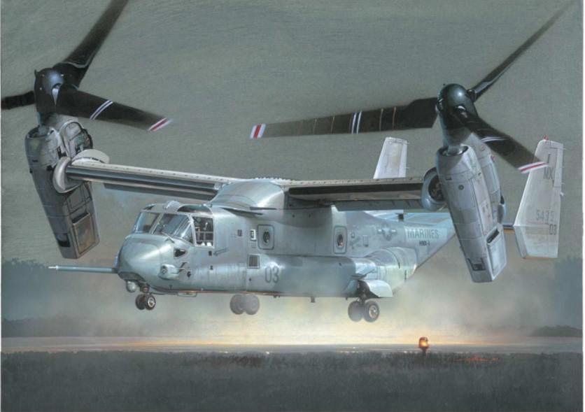 V-22 Osprey de Italeri
