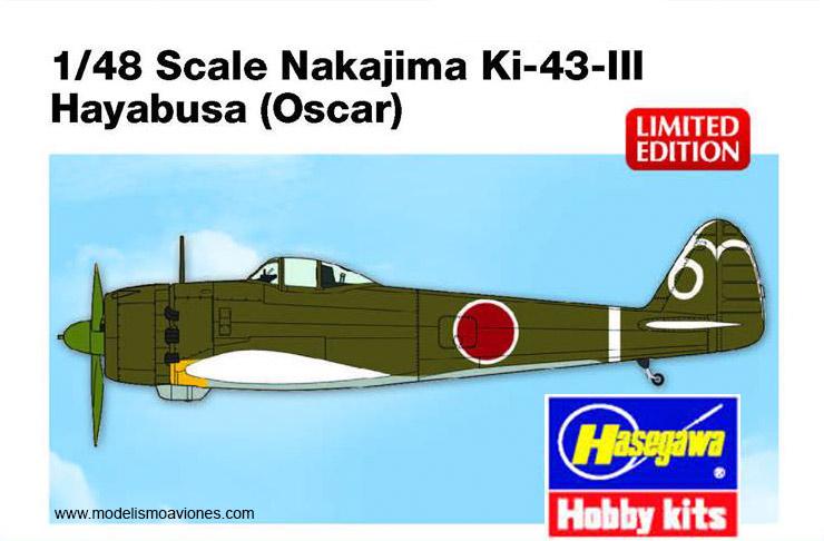 Ki-43 Hayabusa Oscar de Hasegawa