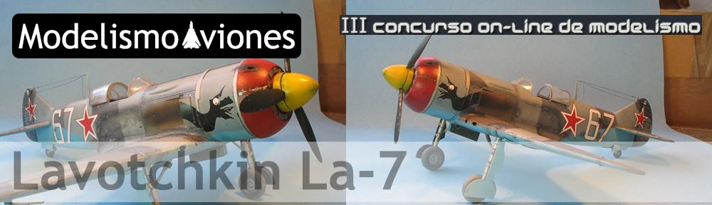 Maqueta Lavotchkin La-7