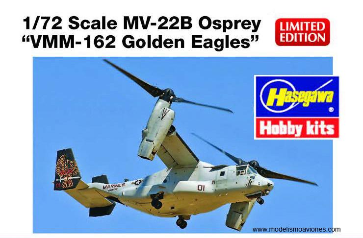 Maqueta V-22 Osprey Hasegawa