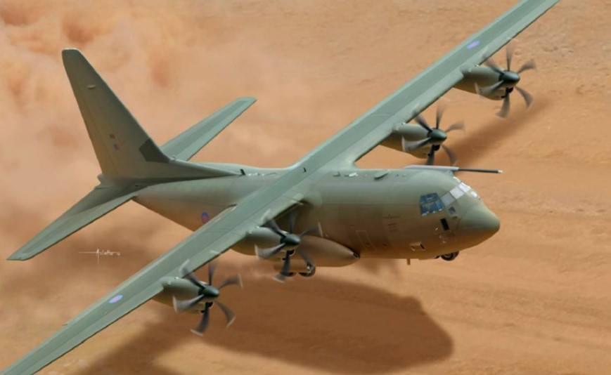 Maqueta C-130 Hercules Italeri