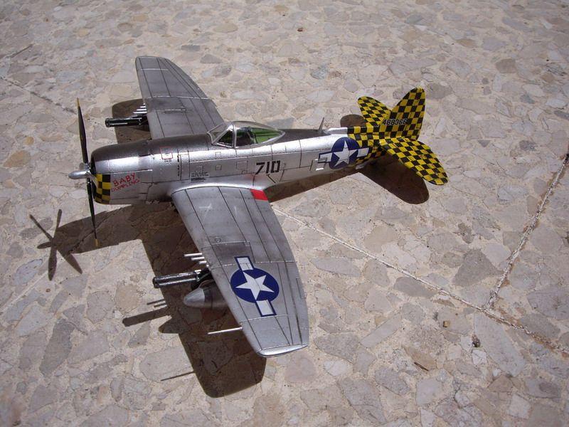 P-47 Thunderbolt, maqueta de Italeri
