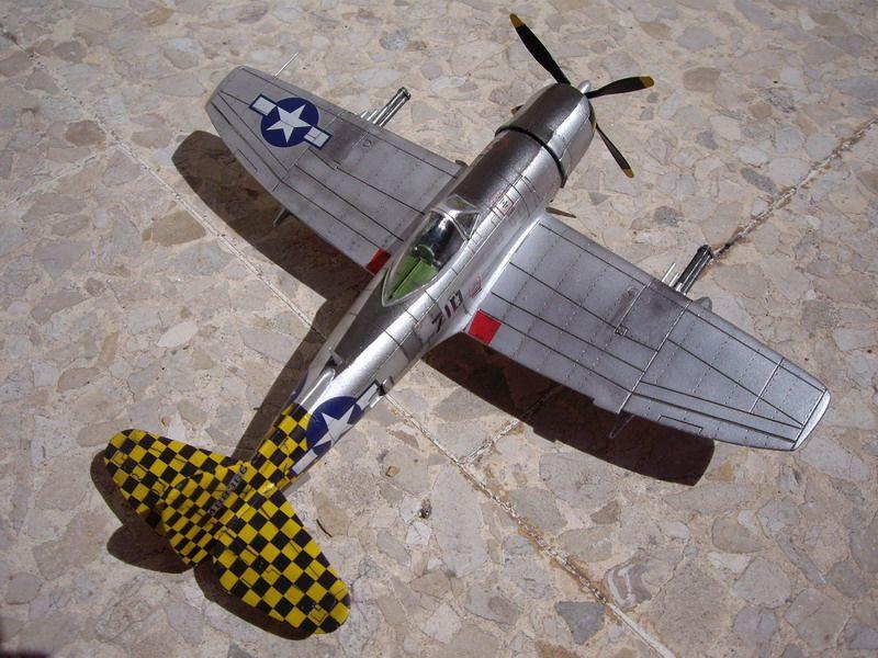 Maqueta de Italeri P-47 Thunderbolt