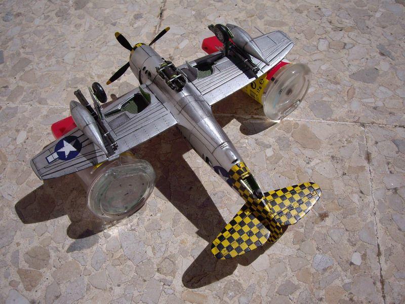 Maqueta Italeri P-47 Thunderbolt