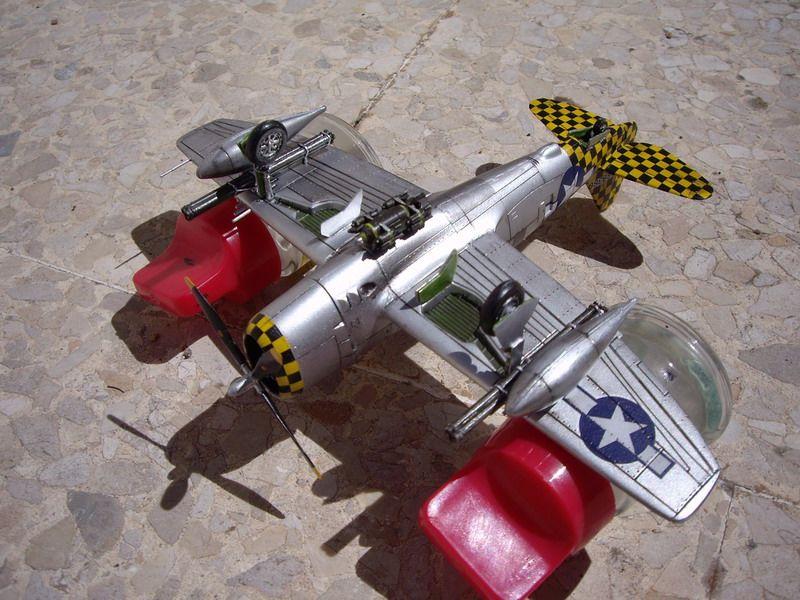 Maqueta P-47 Thunderbolt de Italeri