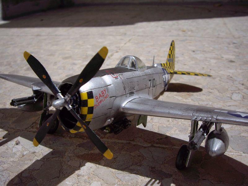 Maqueta del P-47 de Italeri