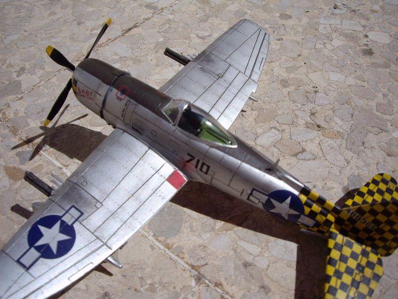 P-47 Thunderbolt de Italeri