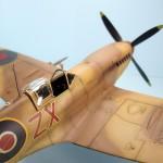Maqueta Spitfire de Hasegawa 1