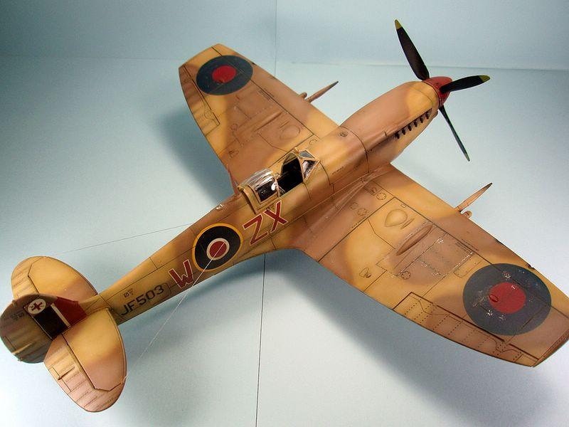 Maqueta Spitfire de Hasegawa 2