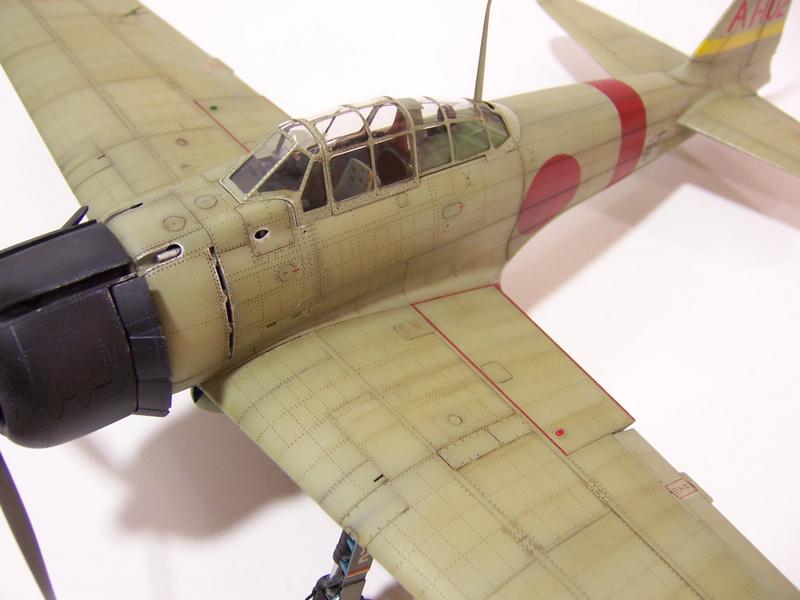 Maqueta avión Zero de Tamiya