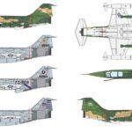 Nuevo F-104 de Italeri: calcas y esquemas de color