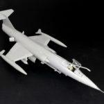 Pruebas de encaje del F-104 a 1/32 de Italeri