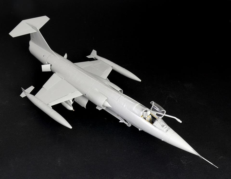 Maqueta F-104 de Italeri