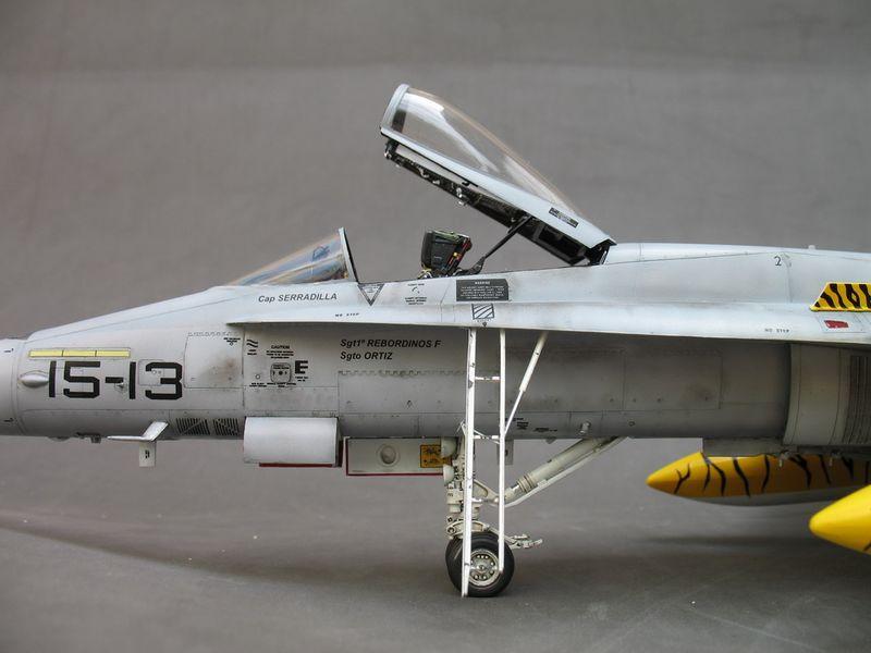 Maqueta F-18 Hasegawa Tiger Meet 3