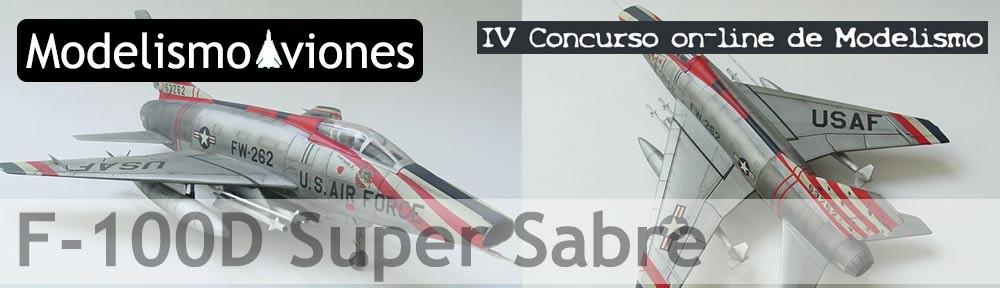 Galería de la maqueta del F-100D Super Sabre de Hasegawa a escala 1/72