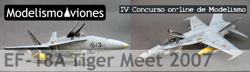 Maqueta F-18 español