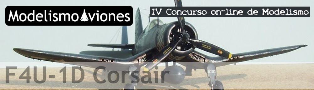 Maqueta de Hasegawa del F4U Corsair a escala 1/72