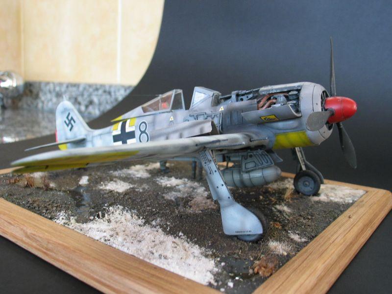 Maqueta Fw-190 02