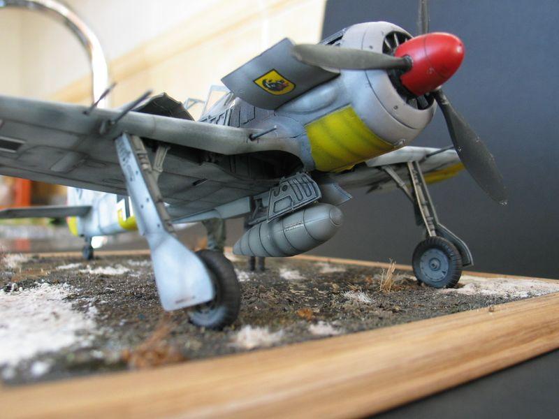 Maqueta Fw-190 03
