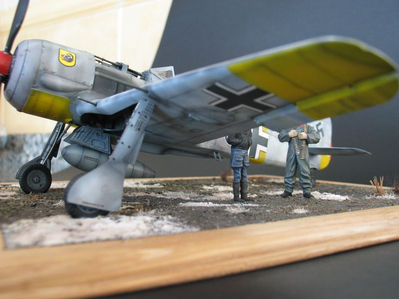 Maqueta Fw-190 04