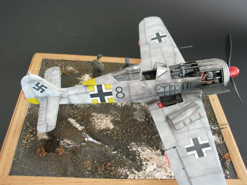 Maqueta Fw-190 05