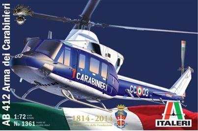 Maqueta de helicóptero Italeri a 1/72