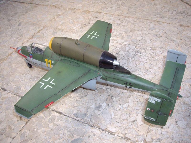 Maqueta Revell He-162 03