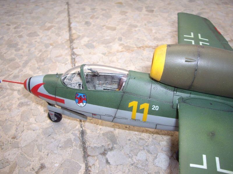 Maqueta Revell He-162 04