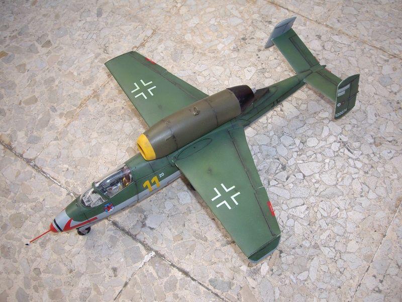 Maqueta Revell He-162 05