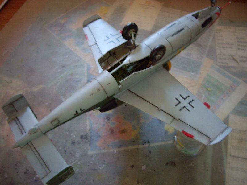 Maqueta Revell He-162 07