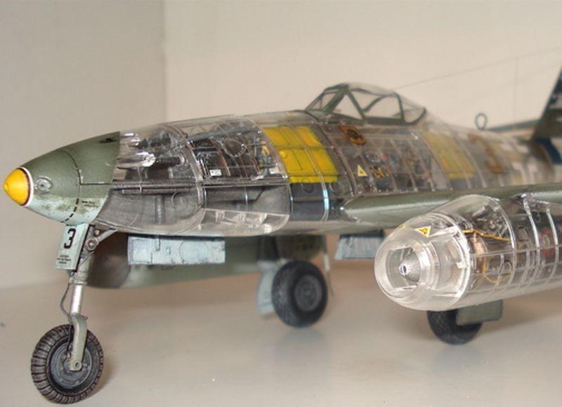Maqueta Tamiya Me-262 02