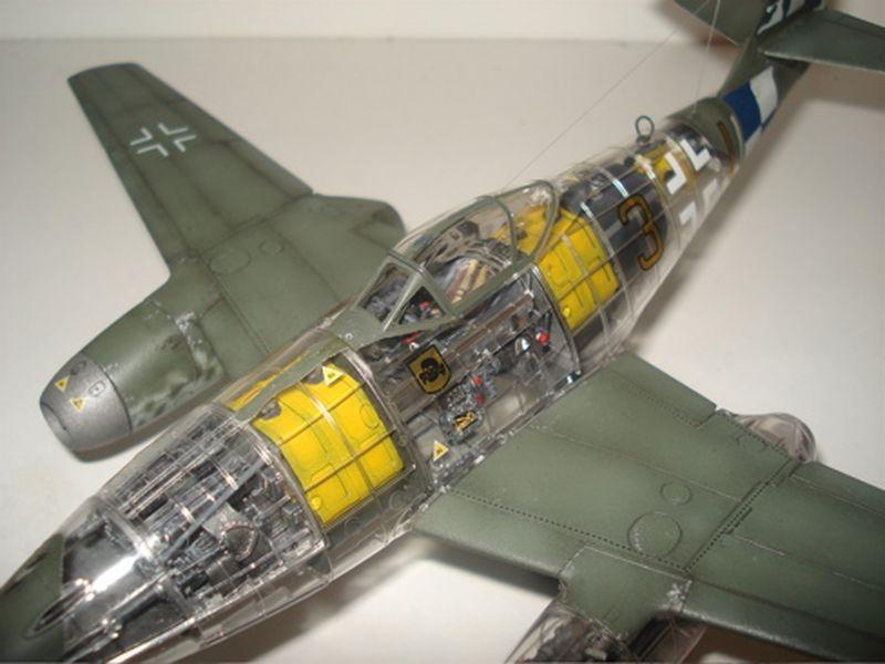 Maqueta Tamiya Me-262 03