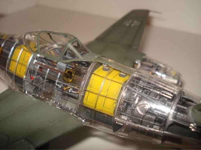 Maqueta Tamiya Me-262 04