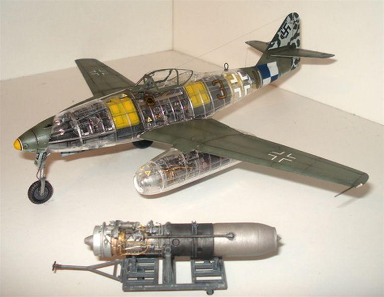 Maqueta Tamiya Me-262 05
