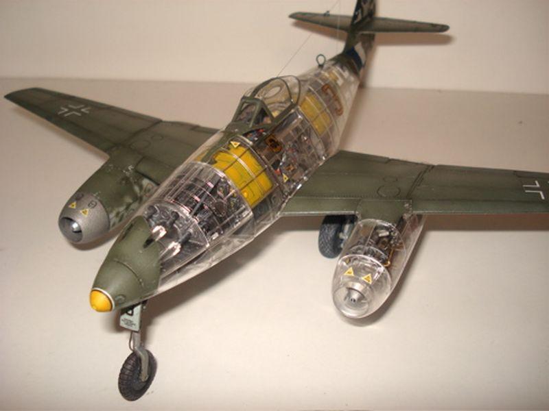 Maqueta Tamiya Me-262 07